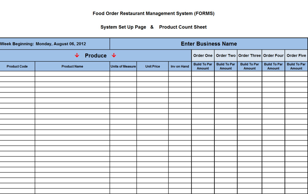 Restaurant Kitchen Management Forms new cumberland, pennsylvania - restaurant consultants, restaurant