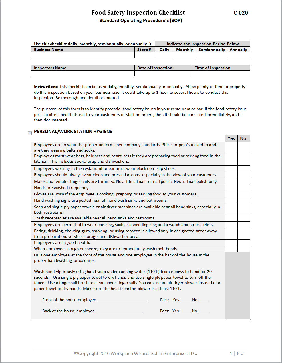 Restaurant Kitchen Prep Sheets restaurant kitchen forms get organized now workplace wizards