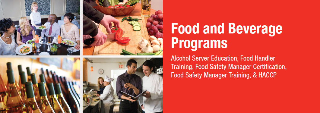 food and alcohol certification training