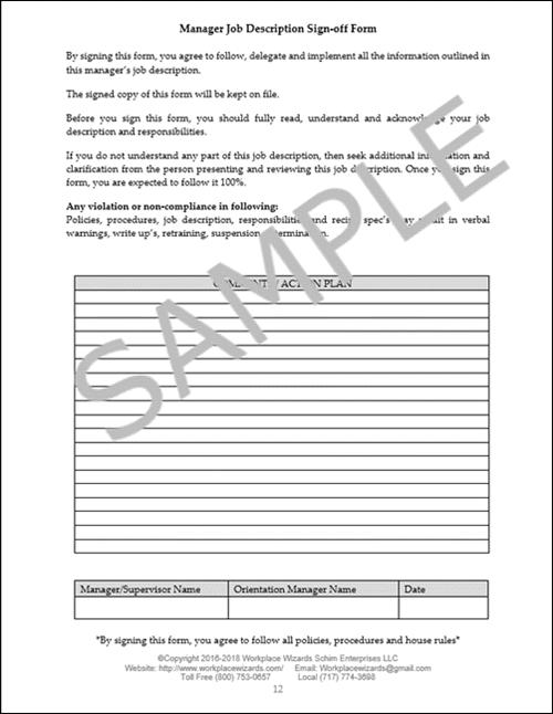 restaurant manager job description pdf