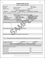employee write-up form