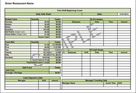 Safe Count Spreadsheet Workplace Wizards Forms And