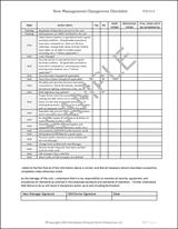 Manager Shift Change Checklist