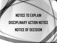 suspension notice