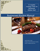 restaurant kitchen training manual