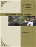 restaurant server training manual