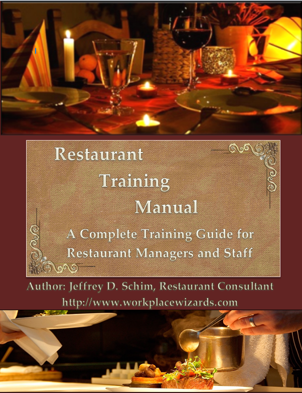 Restaurant Management Training Manual - Workplace Wizards